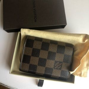 Louis Vuitton DE card case